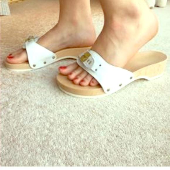 Dr Scholls Vintage Wooden Sandals